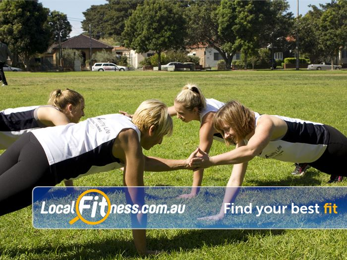 The Healthy Life Personal Training Rosebery Work as a team and achieve results together.