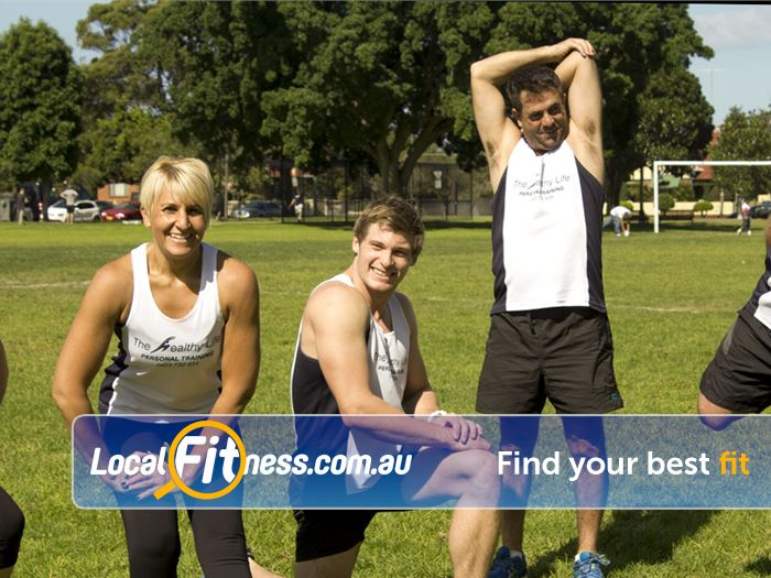 The Healthy Life Personal Training Rosebery We provide friendly Rosbery outdoor fitness training environment.