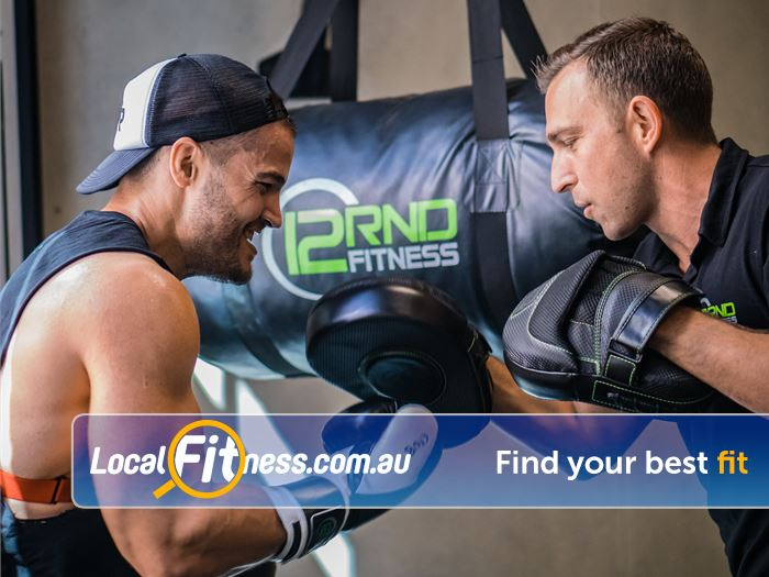 12 Round Fitness Gym Miranda  | Rethink your training with 12 Rounds Fitness Mascot.