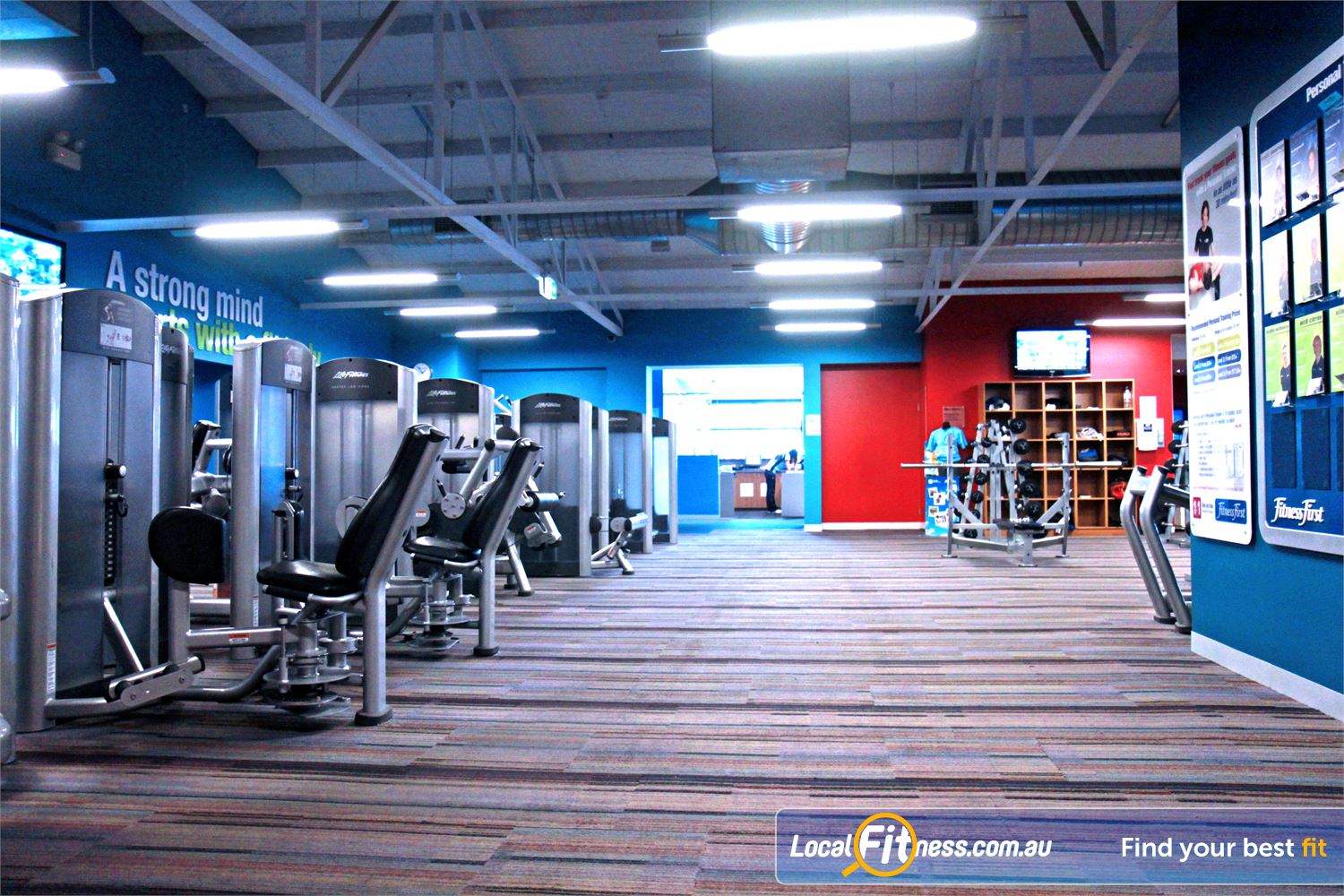 Goodlife Health Clubs Marion Welcome the spacious Goodlife Marion gym.