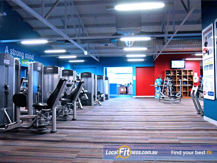 Goodlife Health Clubs Gym St Marys    Welcome the spacious Goodlife Marion gym.