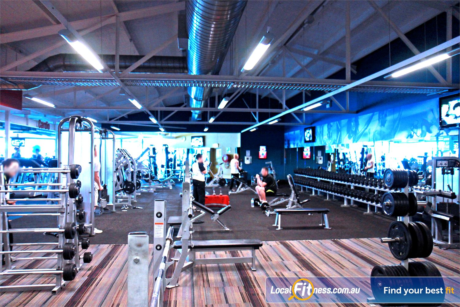 Goodlife Health Clubs Marion Our Marion gym offers an extensive range of dumbbell and barbell equipment.