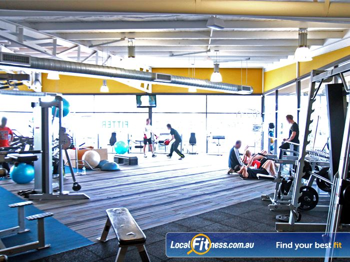 Goodlife Health Clubs Gym Hindmarsh    An extensive range of free-weight Marion gym equipment