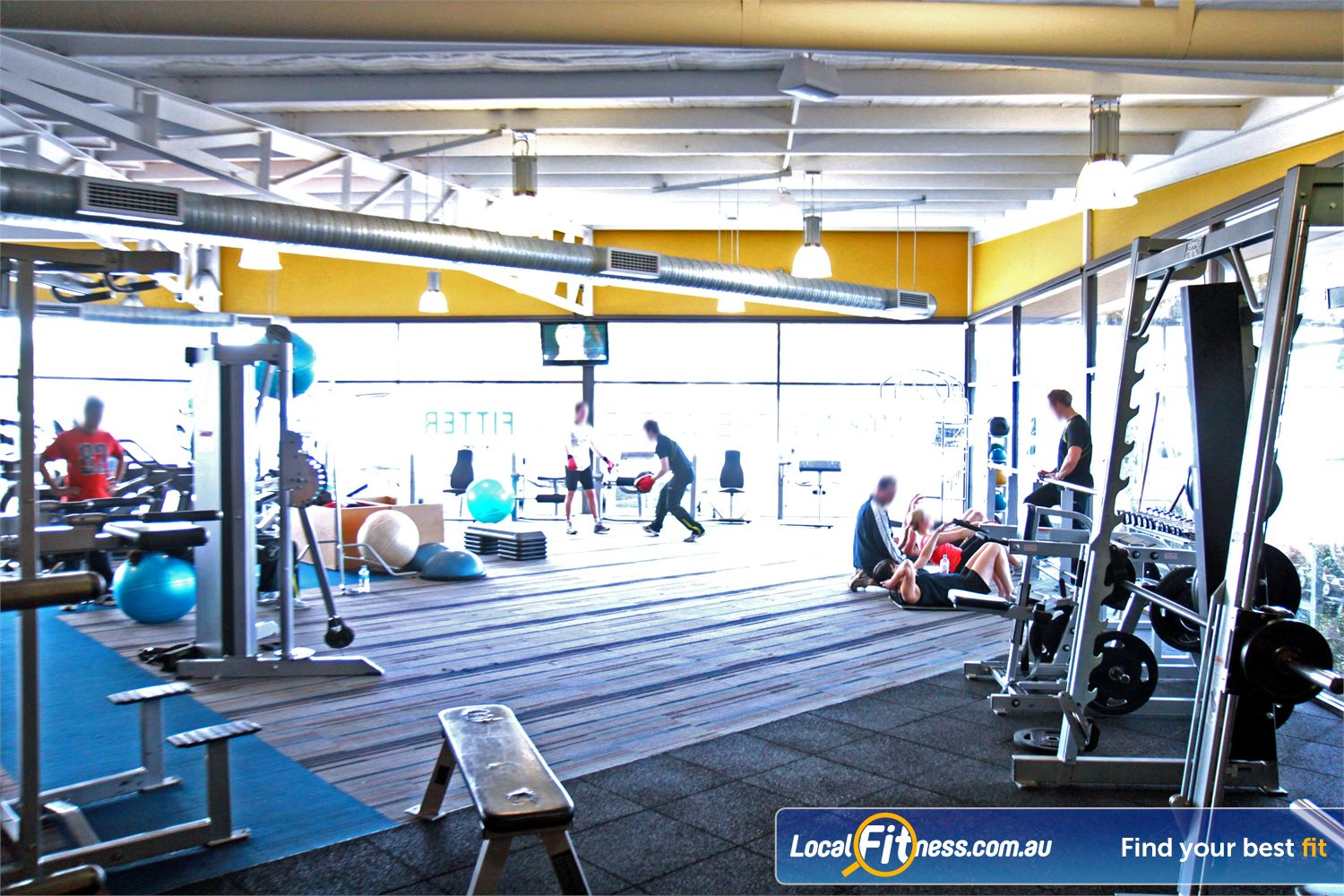 Goodlife Health Clubs Near Mitchell Park An extensive range of free-weight Marion gym equipment from Hammer Strength.
