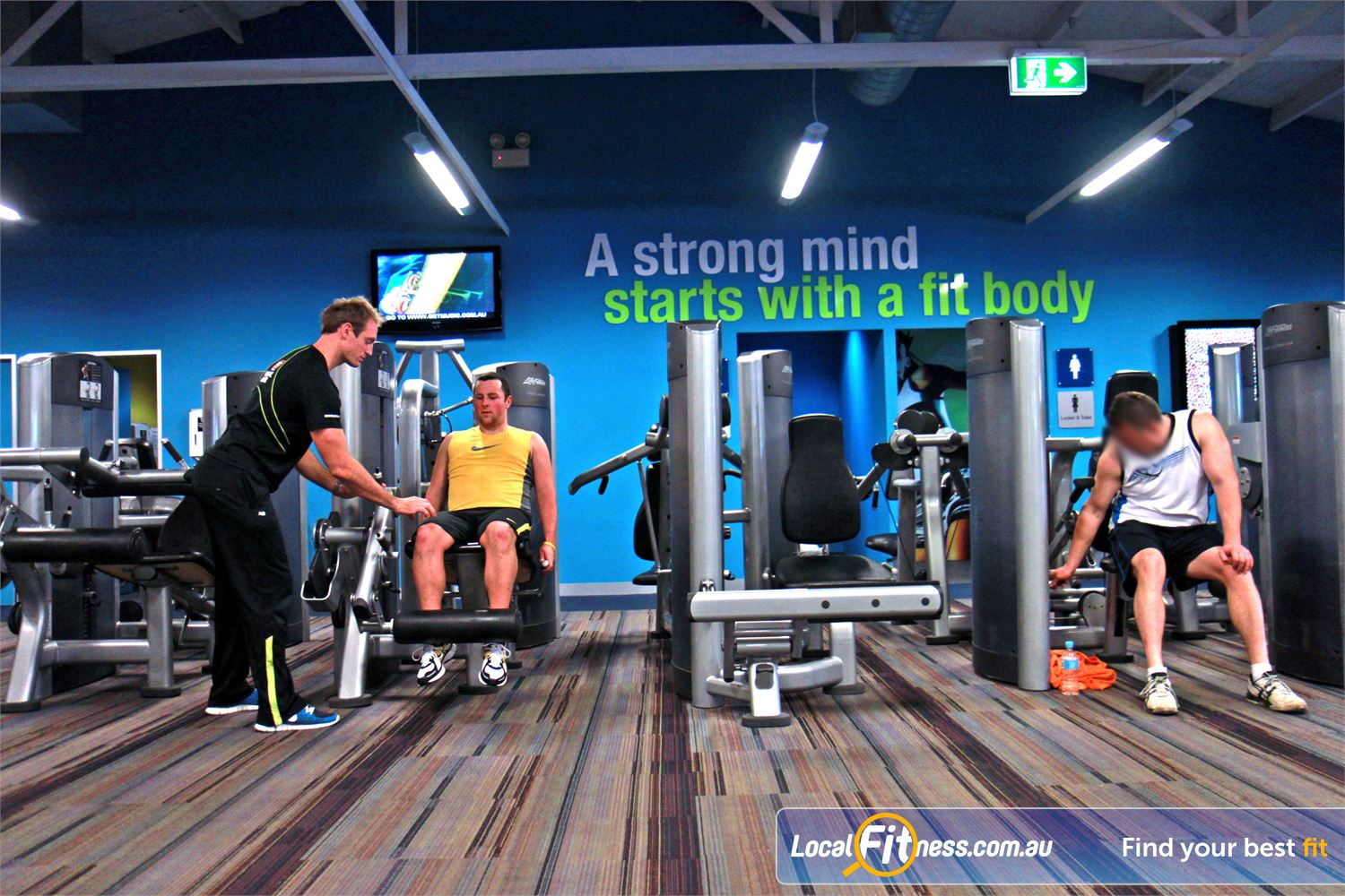 Goodlife Health Clubs Near Oaklands Park State of the art equipment from Life Fitness in our Marion gym.