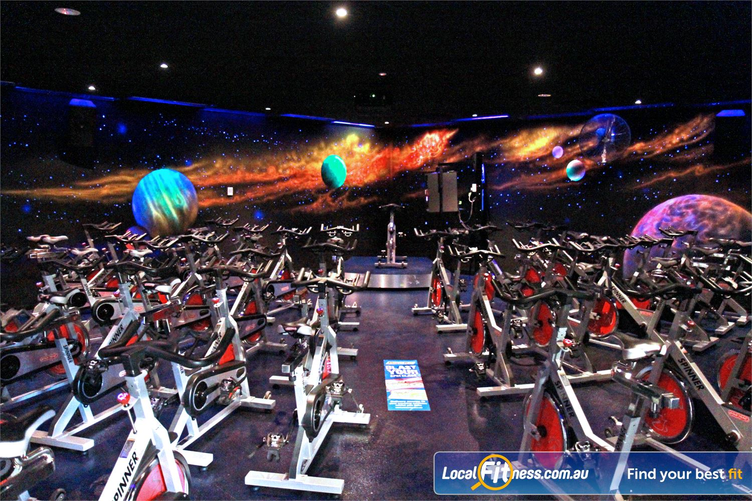 Goodlife Health Clubs Near Mitchell Park Goodlife Marion includes our signature Cosmic spin cycle classes.
