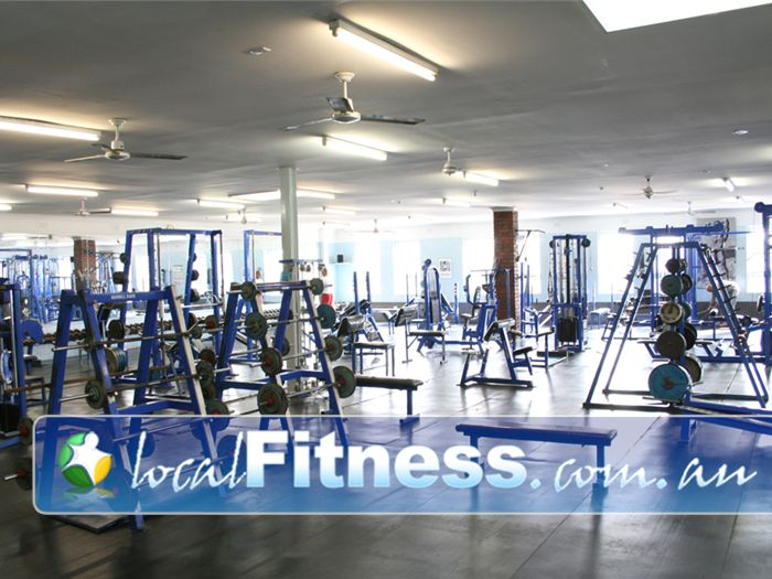 Body World Gym Balaclava  | The our famous free-weights arena at Bodyworld Balaclava.
