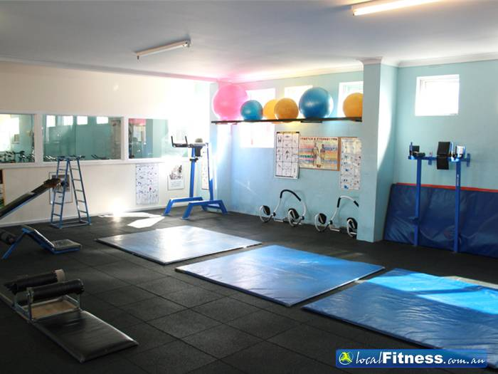 Body World Balaclava A huge abs and stretch area for our clients.