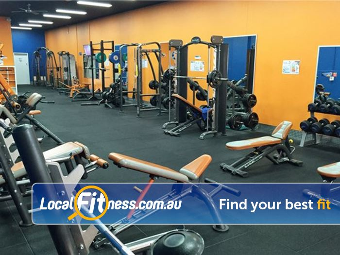 Plus Fitness 247 Gym Sylvania  | The 2 level 24 hour Sutherland gym.