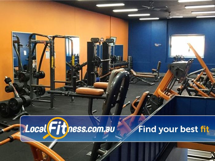 Plus Fitness 247 Near Bangor Our Sutherland gym is spread over 2 jam-packed levels of fitness.