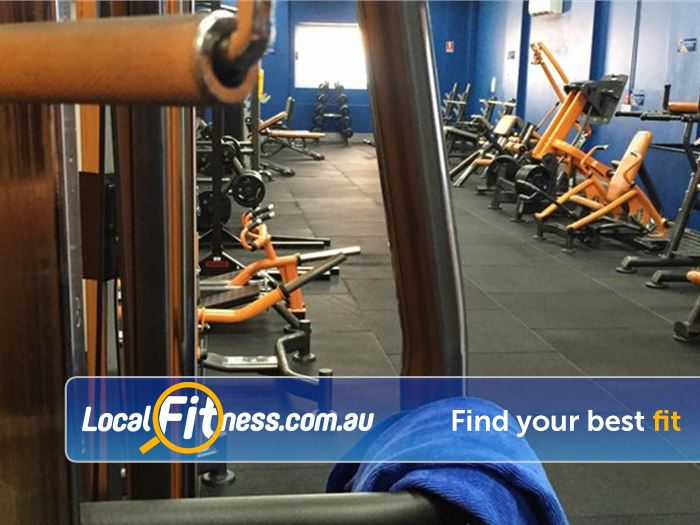 Plus Fitness 247 Sutherland Enjoy Sutherland gym access 24 hours a day when you please.