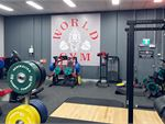 World Gym Penrith Gym Fitness The free-weights area includes