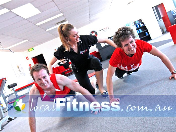 New Level Personal Training Near Seaholme Our Williamstown group training sessions keep everyone involved and accountable.<br /><br /><br /><br /><br /><br />