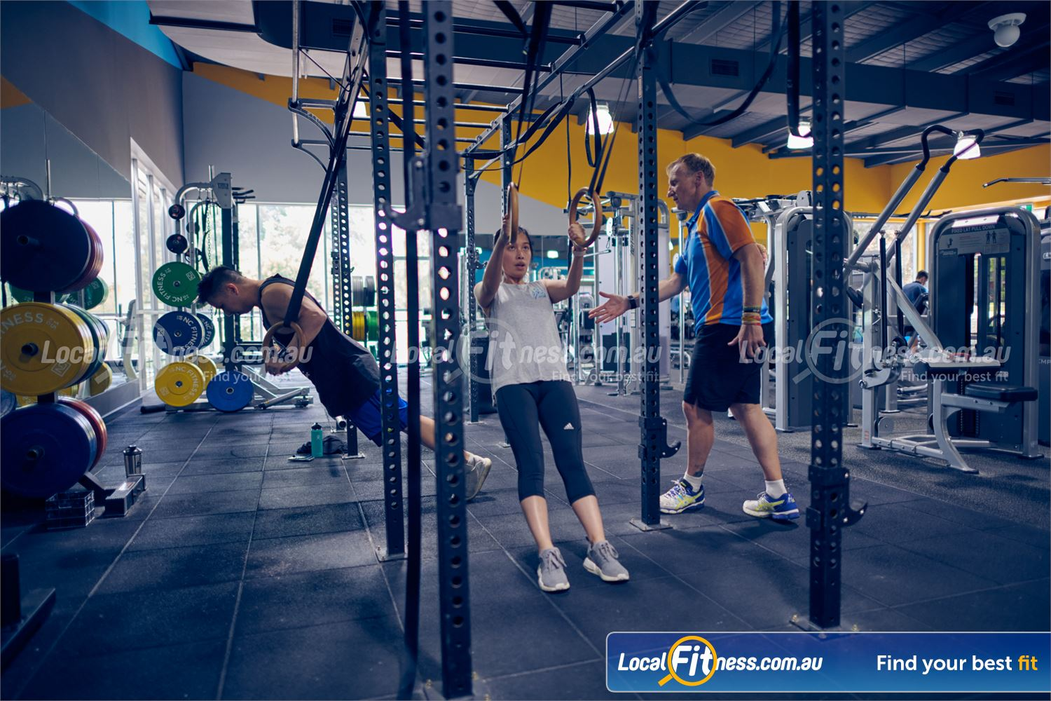 Knox Leisureworks Boronia The Knox Leisureworks Boronia gym includes a dedicated HIIT gym space.