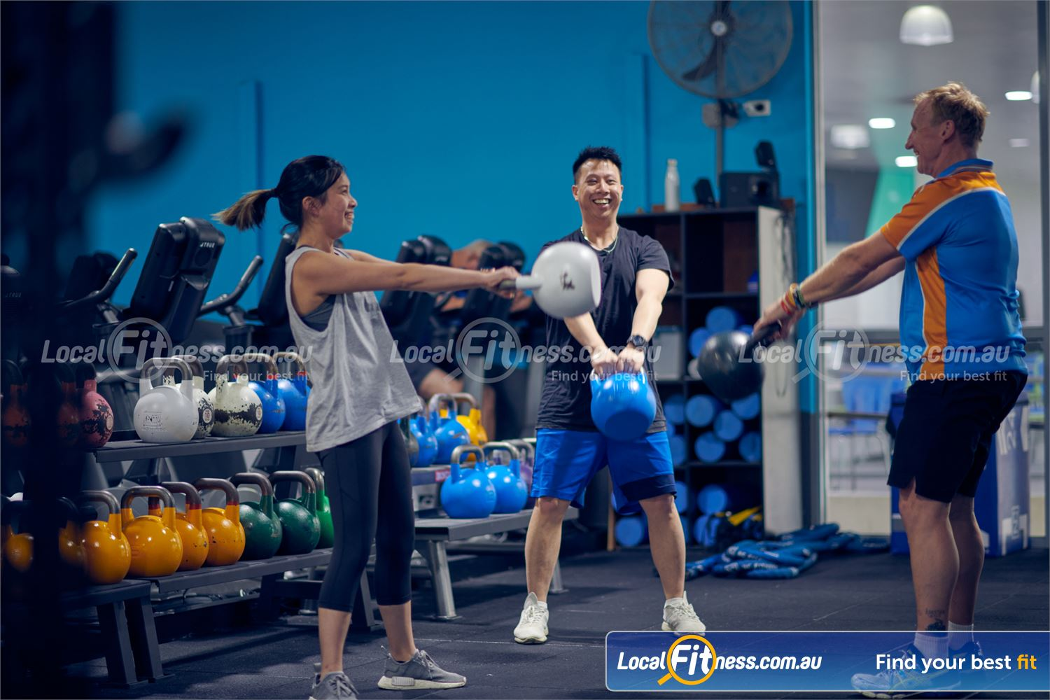 Knox Leisureworks Near Ferntree Gully Learn the fundamentals of  kettlebell training in our Boronia HIIT classes.