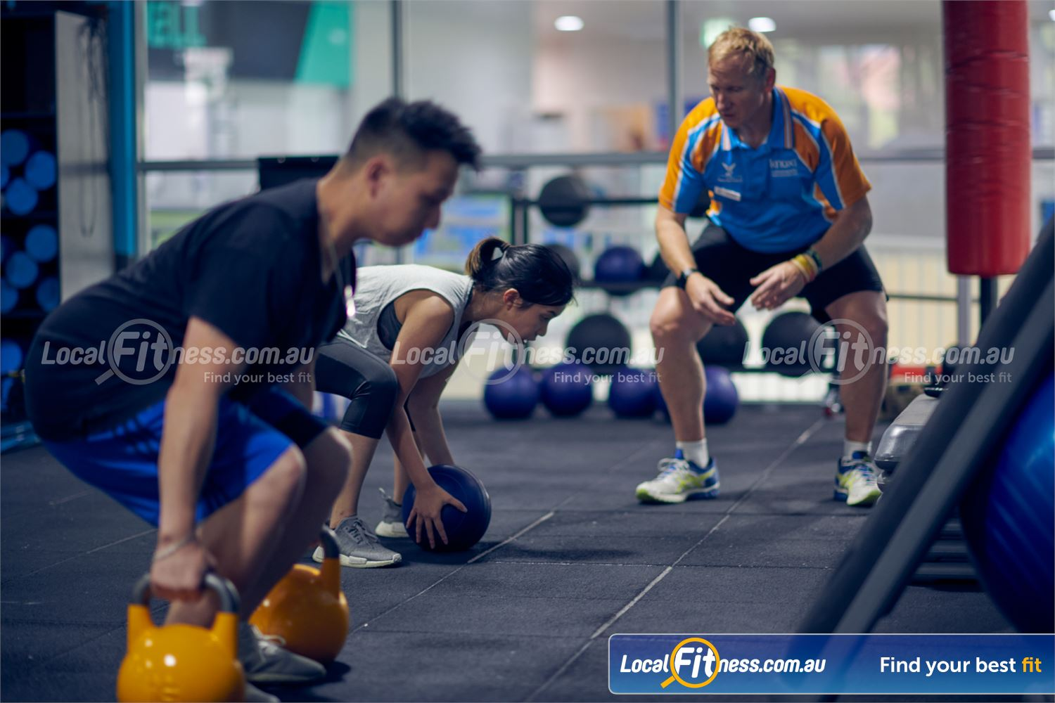 Knox Leisureworks Boronia Our small group training classes combine functional training and HIIT.