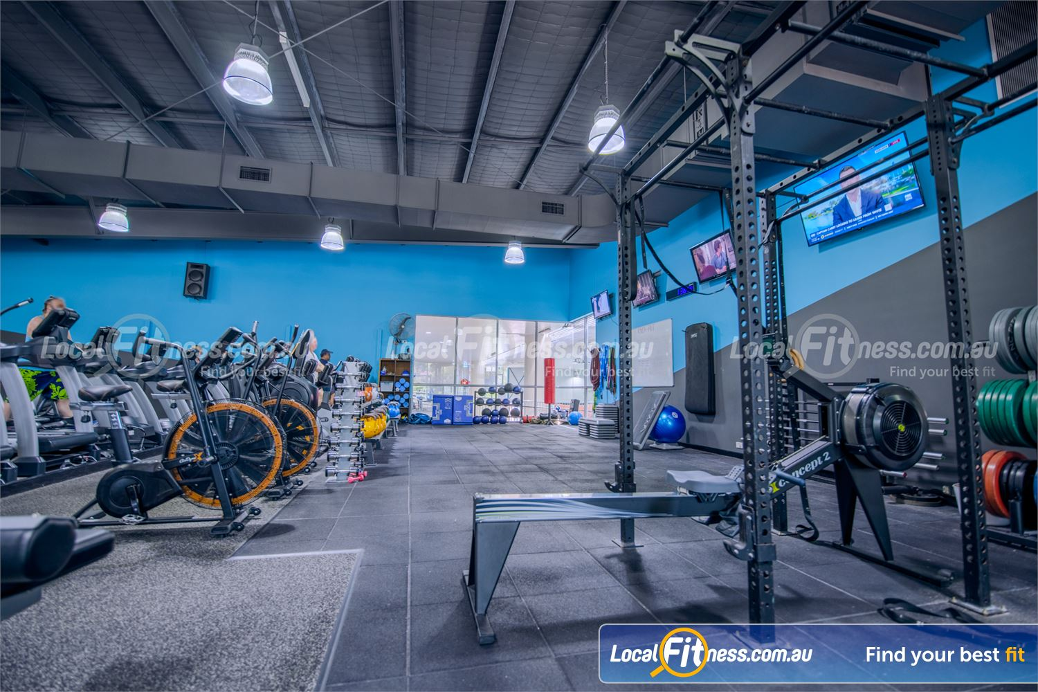 Knox Leisureworks Boronia Welcome to our functional training HIIT gym space in Boronia.