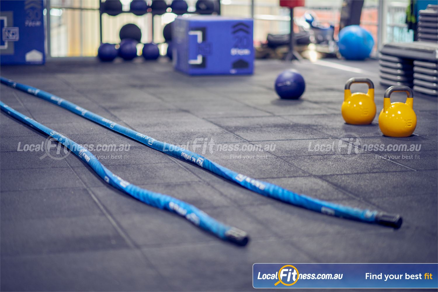 Knox Leisureworks Near Tremont Our Boronia gym is fully equipped with battle ropes, kettlebells, foam boxes and more.