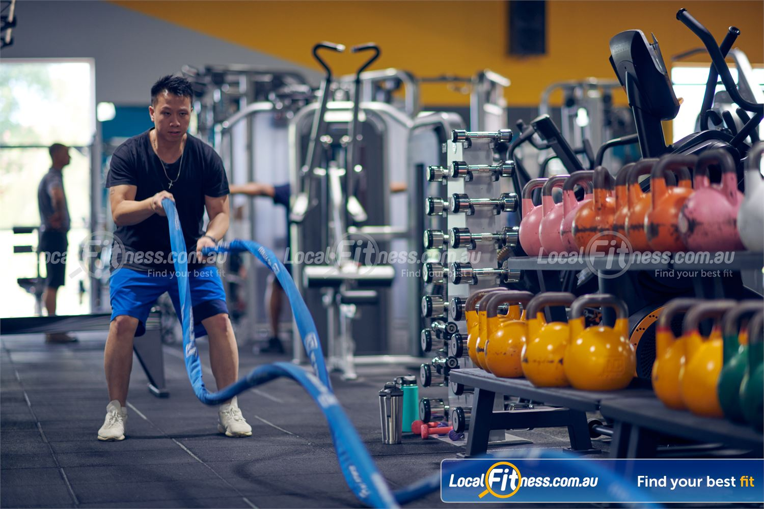 Knox Leisureworks Near Ferny Creek Our Boronia HIIT gym includes battle rope training and more.
