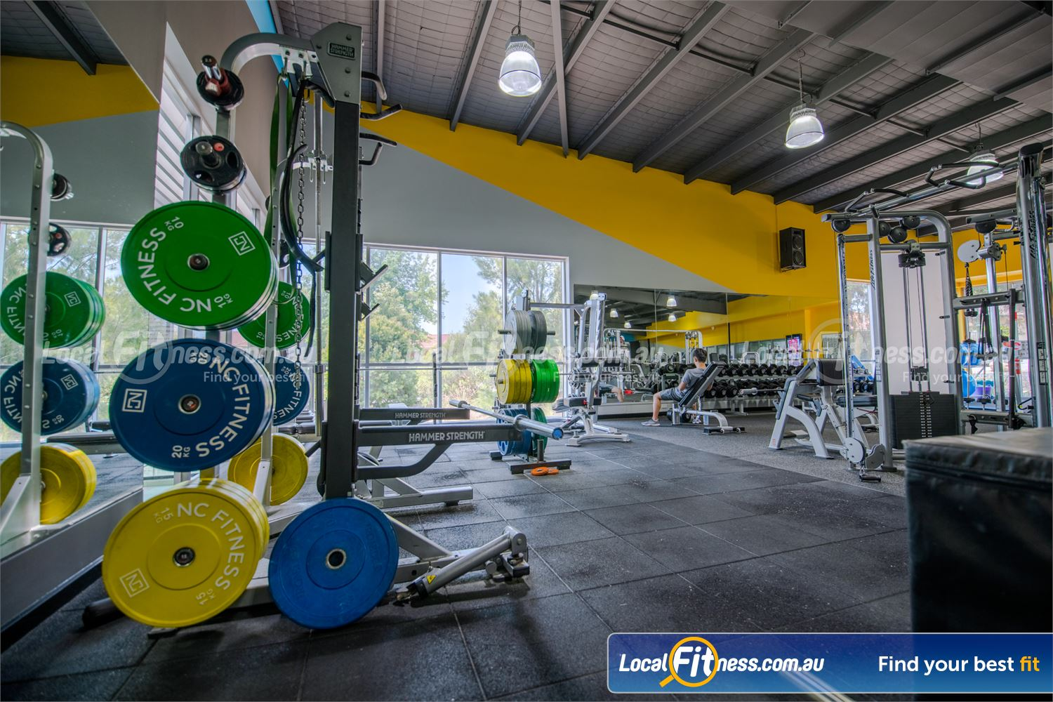 Knox Leisureworks Near Ferntree Gully Our 24/7 Boronia gym includes a spacious free-weights area.