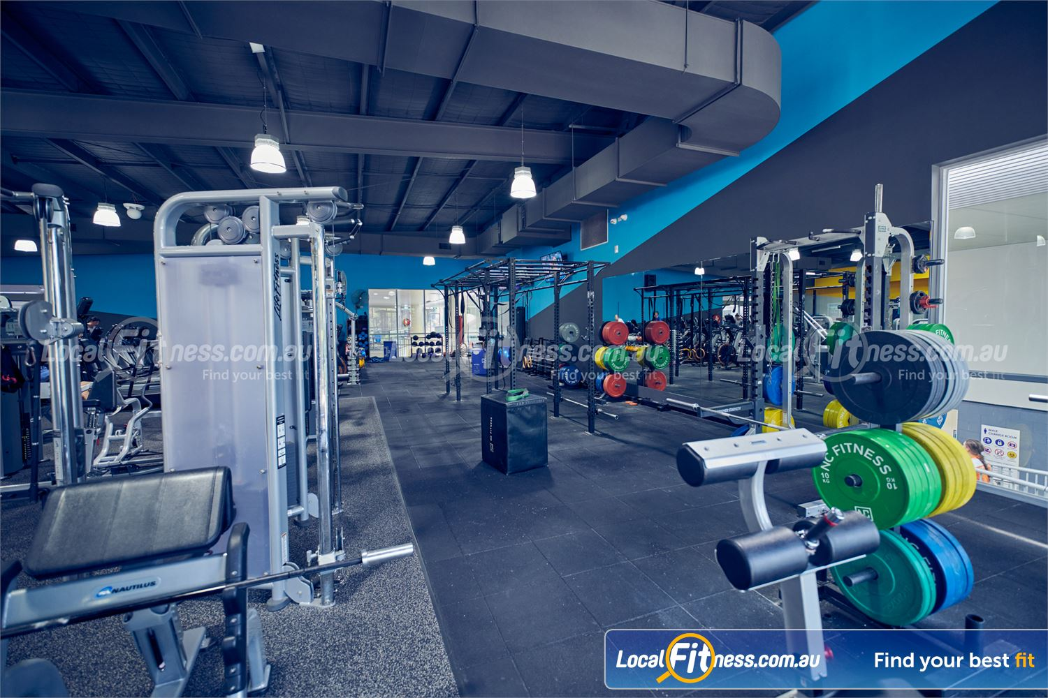 Knox Leisureworks Boronia Train when you want with 24 hour Boronia gym access in Knox.