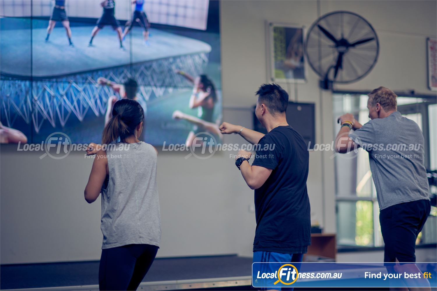 Knox Leisureworks Near Ferntree Gully Experience the revolutionary virtual classes now at Knox Leisureworks.
