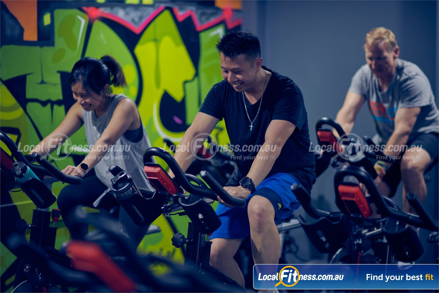 Knox Leisureworks Near Ferny Creek Our spin instructors will take you on a high-energy cycle workout in Knox.