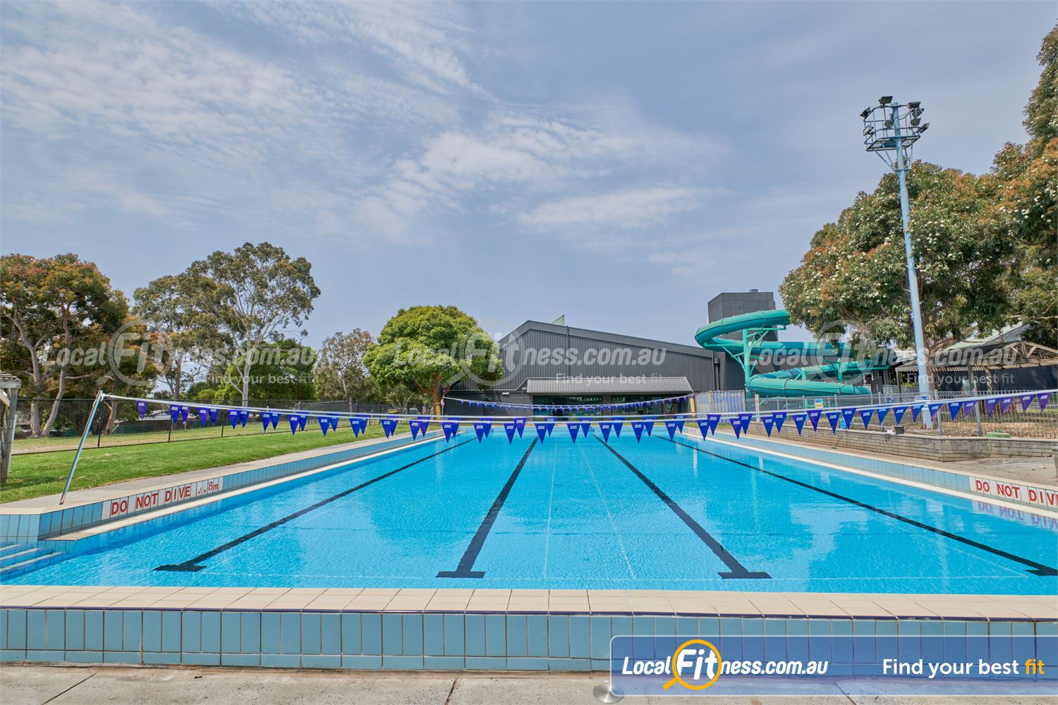 Knox Leisureworks Boronia 25-metre outdoor recreation pool is open during the summer months.