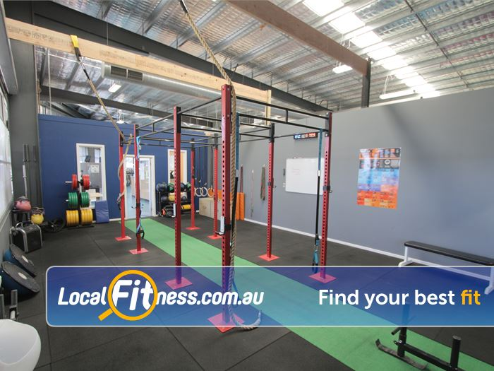 Rising Up Fitness Gym Berwick    'The Cage' - dedicated functional training zone.