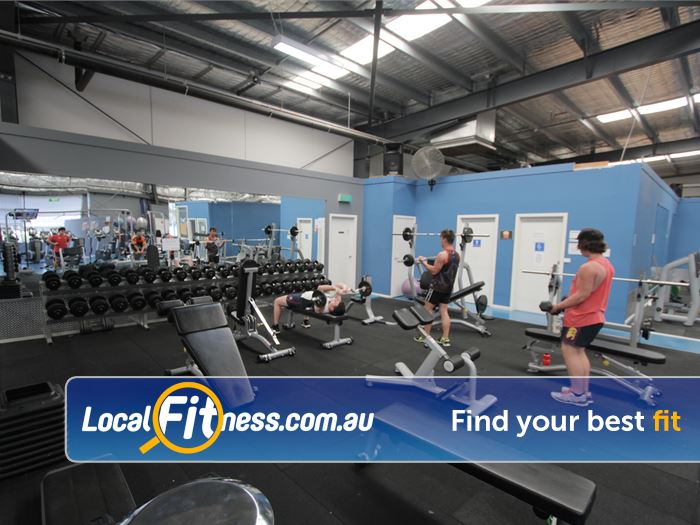 Rising Up Fitness Narre Warren Get into free-weights training in Narre Warren.