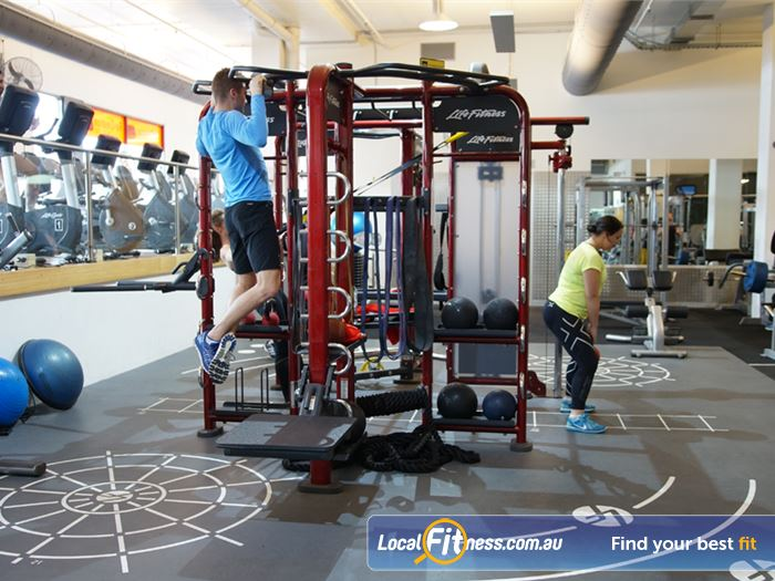 Re-Creation Health Clubs HIIT Melbourne  | The Life Fitness Synergy 360 at our South