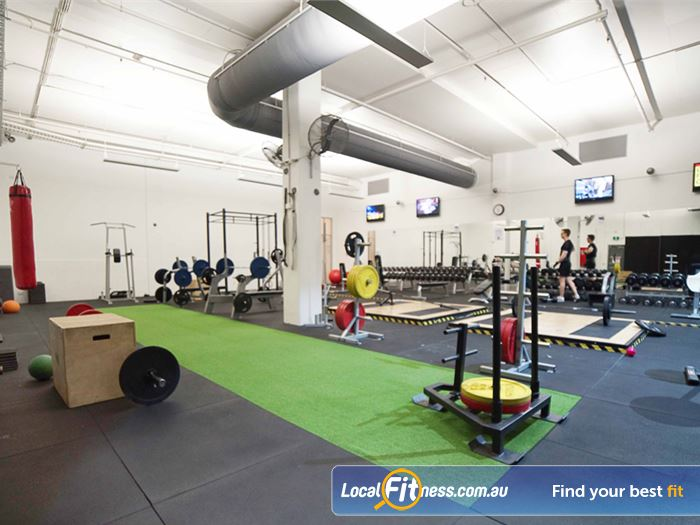 Re-Creation Health Clubs HIIT Melbourne  | Our South Melbourne gym includes an indoor sled
