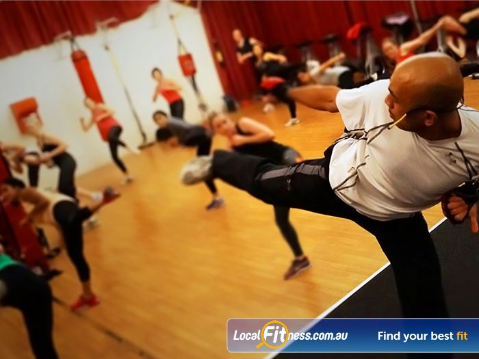 Re-Creation Health Clubs Gym Southbank  | over 90 group fitness classes per week inc.