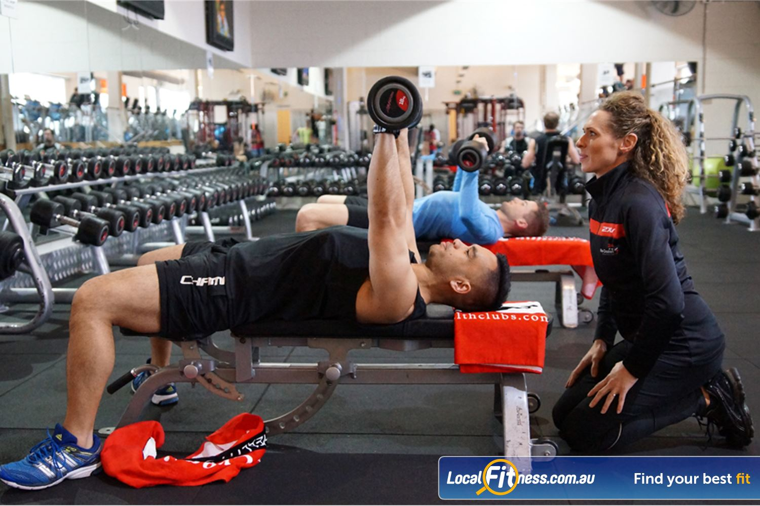 Goodlife Health Clubs South Melbourne Our South Melbourne gym team can help you with your strength goals.
