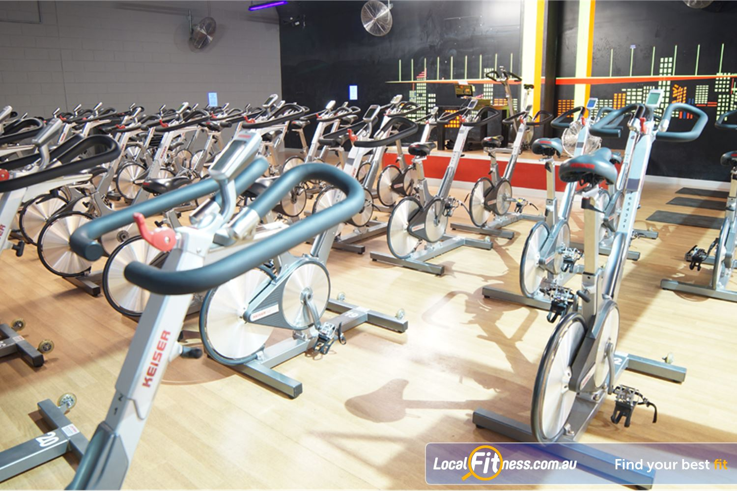 Goodlife Health Clubs Near Port Melbourne Burn calories fast in our South Melbourne cycle studio.