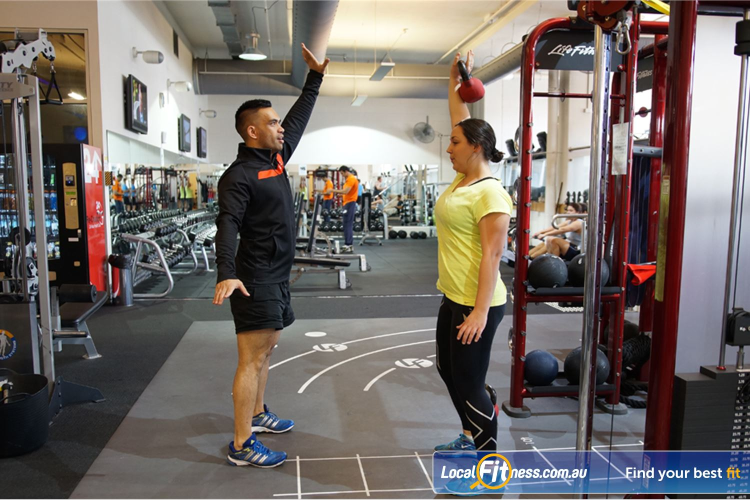 Goodlife Health Clubs South Melbourne South Melbourne personal trainers can help you fast track your results.