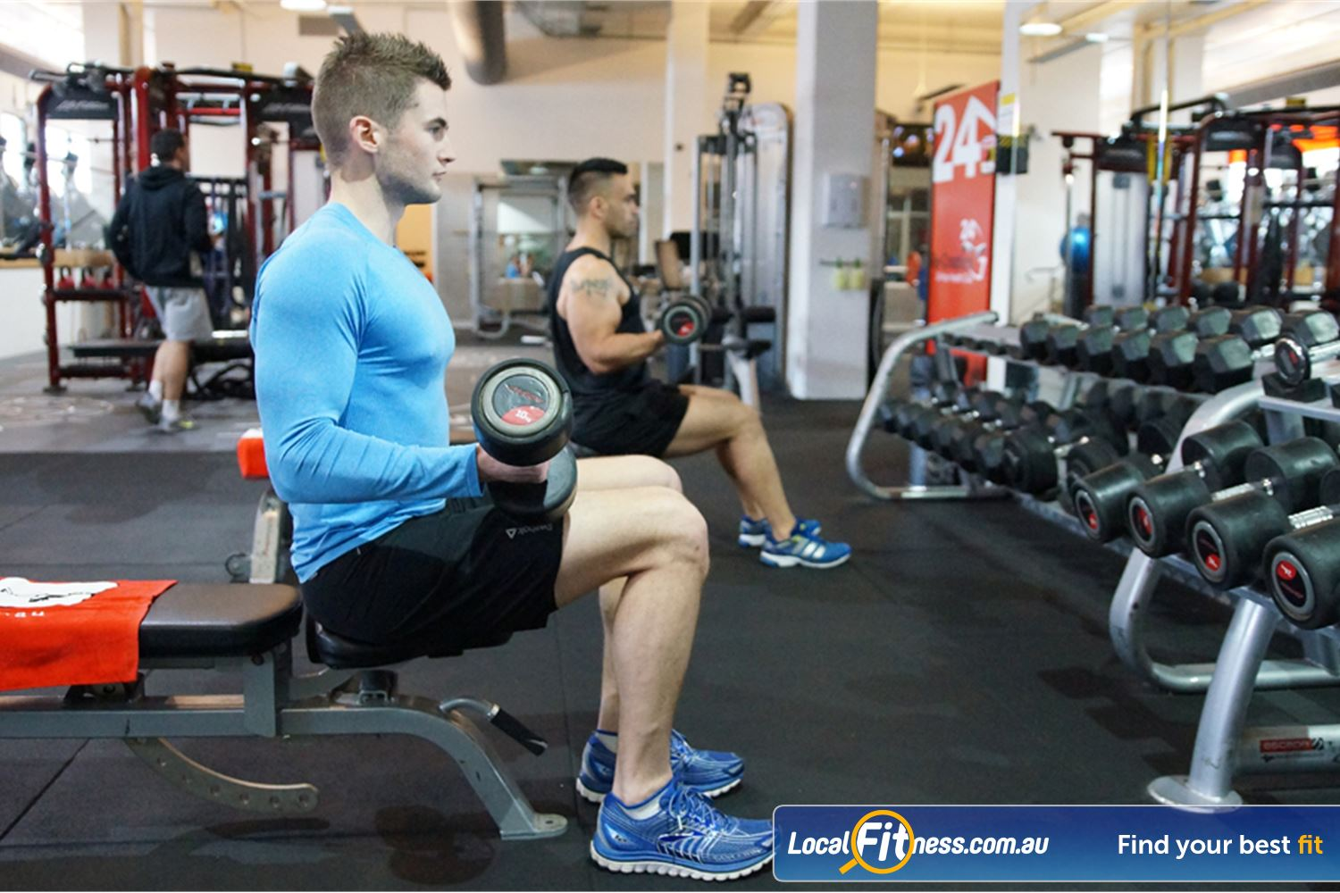 Goodlife Health Clubs Near Port Melbourne Our spacious Goodlife South Melbourne gym is fully equipped with free-weights.