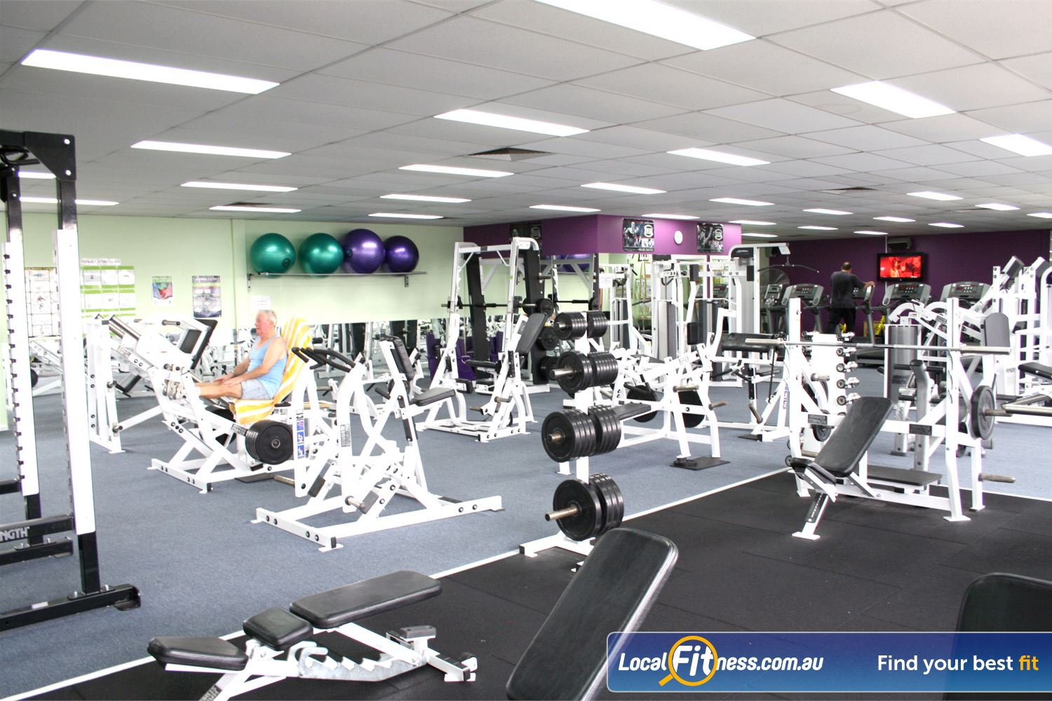 Berry Fitness Centre Edithvale Our 2 level Edithvale gym is one of the largest on the Bayside.
