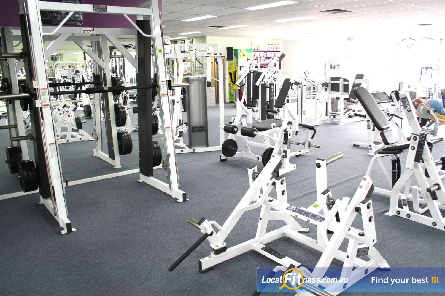 Berry Fitness Centre Near Patterson Lakes Our Edithvale gym includes state of the art equipment for Hammer Strength.