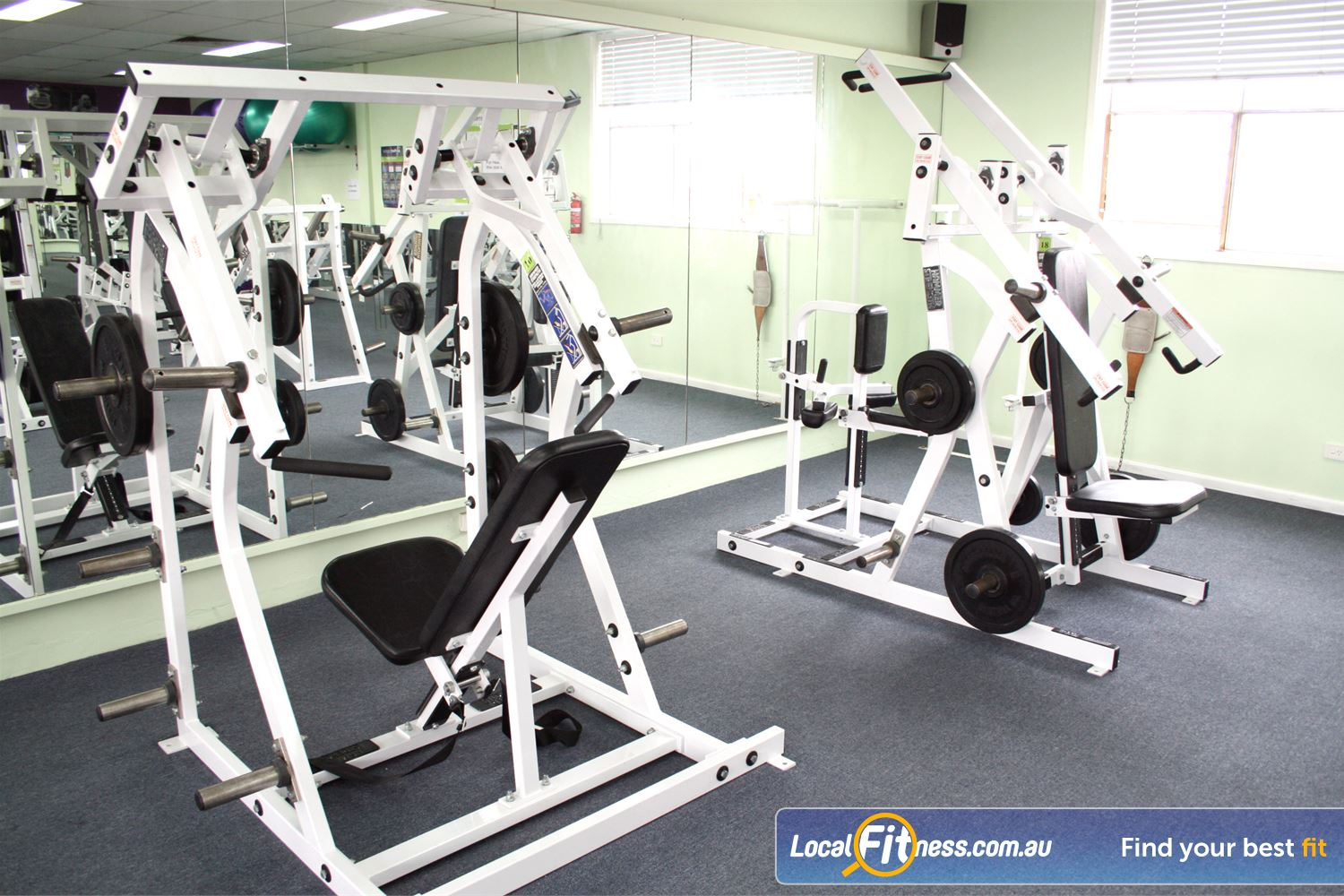 Berry Fitness Centre Near Seaford Enjoy state of the art strength equipment 24 hours a day.