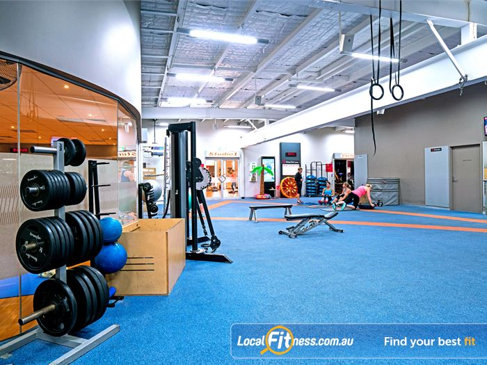 Fitness First Robina Gym Fitness The spacious Robina gym floor