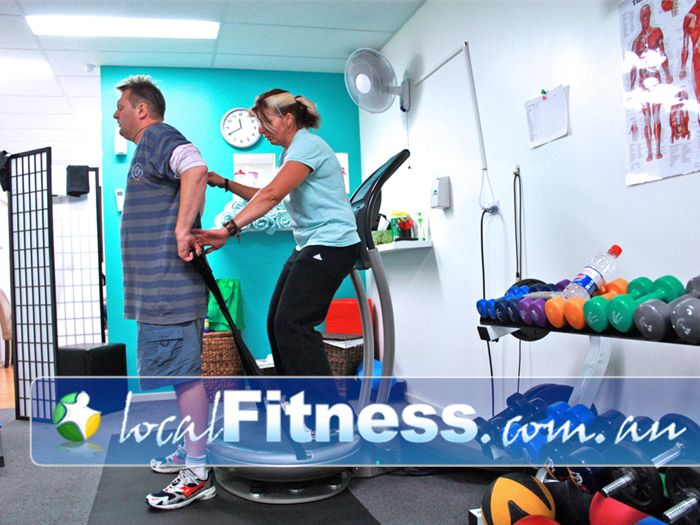 Good Vibrations Vibration & Fitness Studio South Morang We will work with you to rehabilitate your injuries.