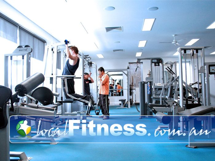 Sunshine Leisure Centre Gym Newport  | Fully equipped gym with the latest LifeFitness equipment.