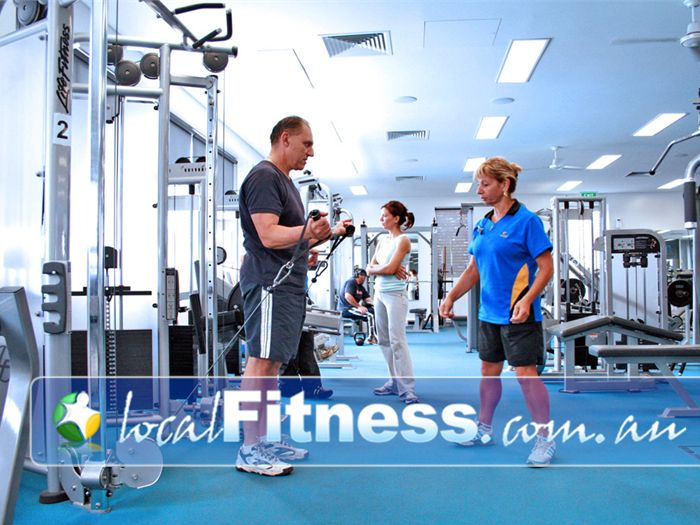 Sunshine Leisure Centre Gym Sunshine  | A spacious and comfortable gym for the Sunshine