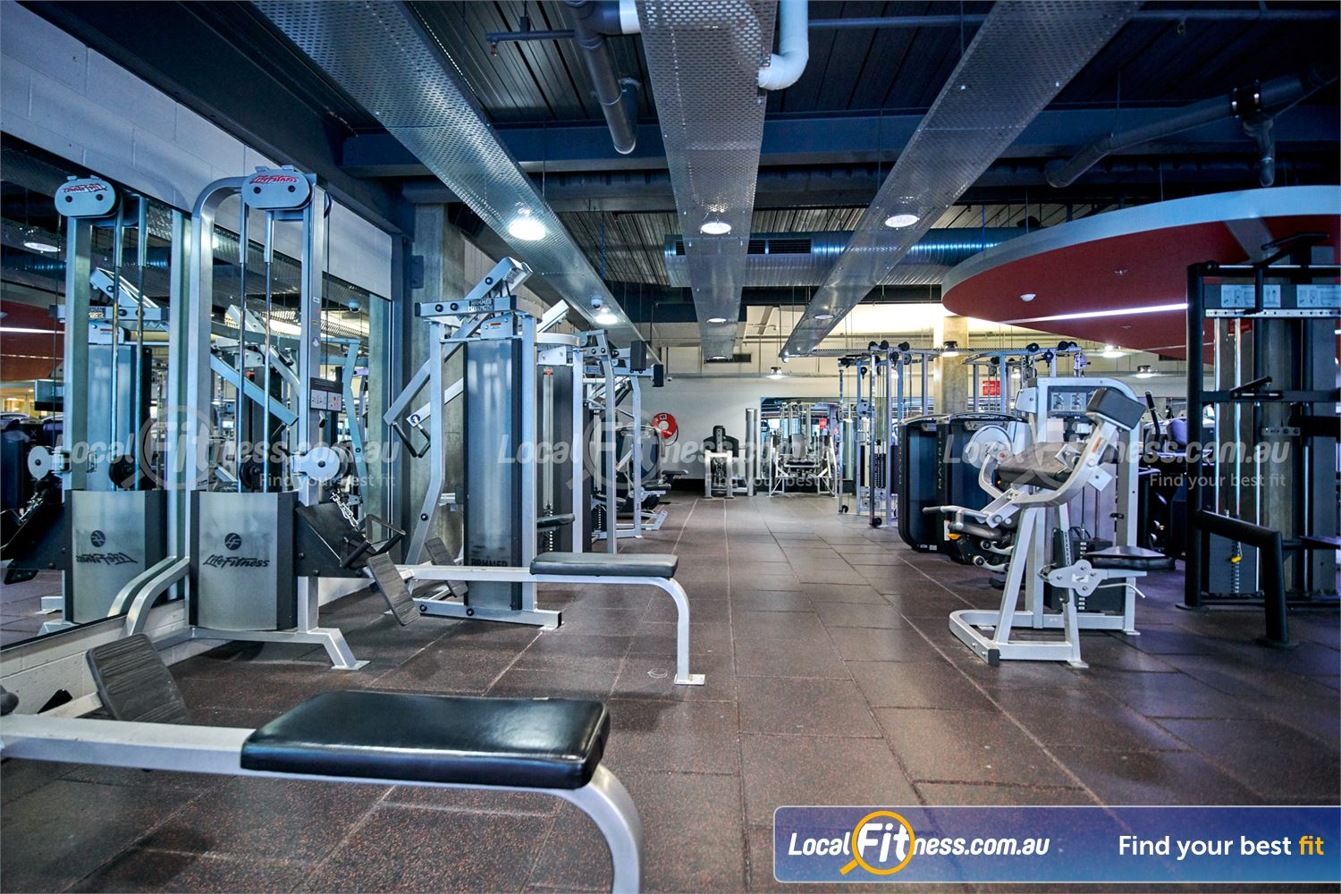 Fitness First Victoria Gardens Richmond Our Richmond gym includes state of the art equipment from Life Fitness.