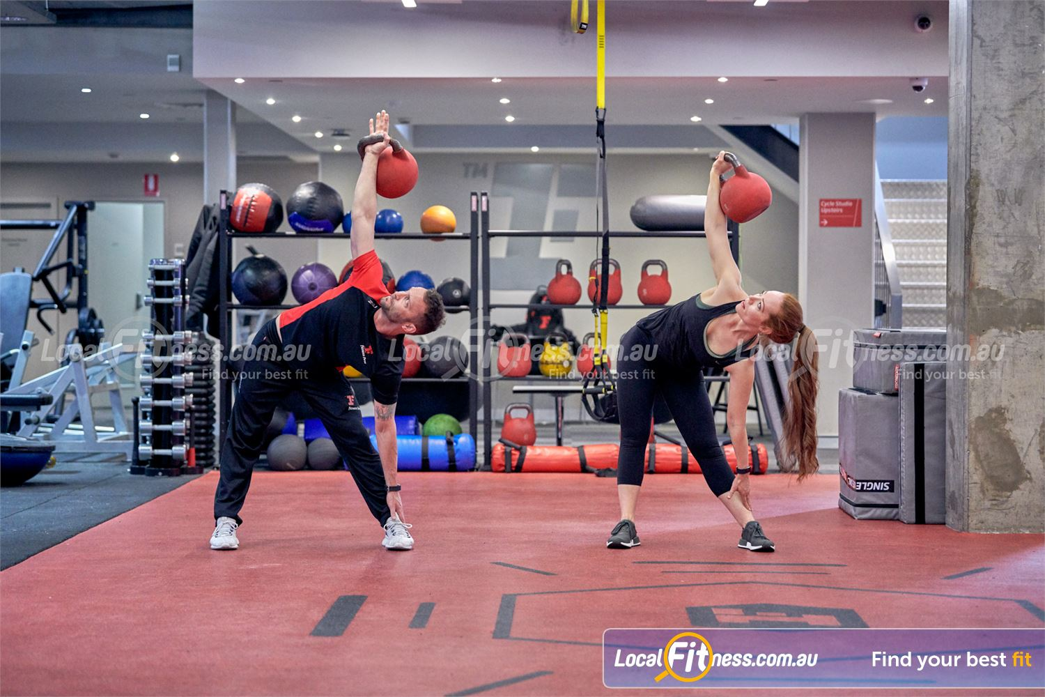 Fitness First Victoria Gardens Near South Yarra Our Richmond HIIT gym is fully equipped for functional workouts.