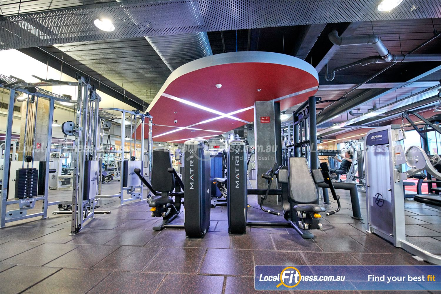 Fitness First Victoria Gardens Richmond Our Richmond gym includes equipment from leading brands such as MATRIX and Life Fitness.