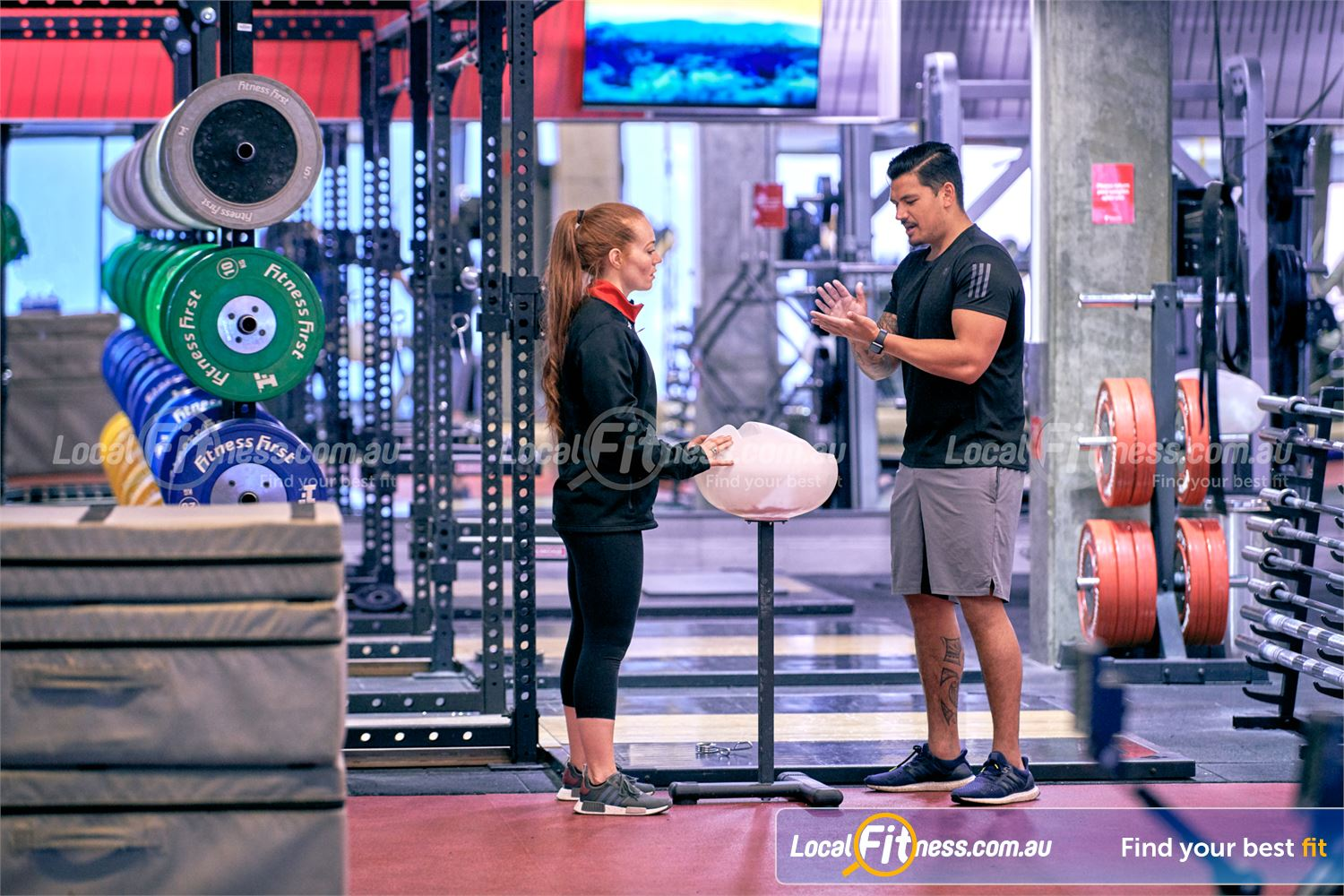 Fitness First Victoria Gardens Richmond Our Richmond gym team can give you the right advice about strength training.