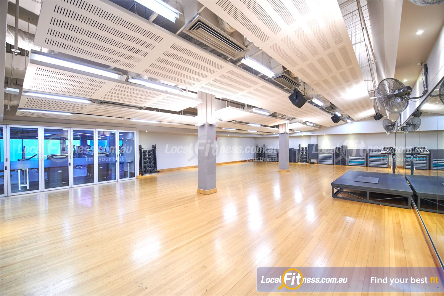 Fitness First Victoria Gardens Near Richmond North Over 55 classes per week inc. Les Mills, HIIT, boxing and more.