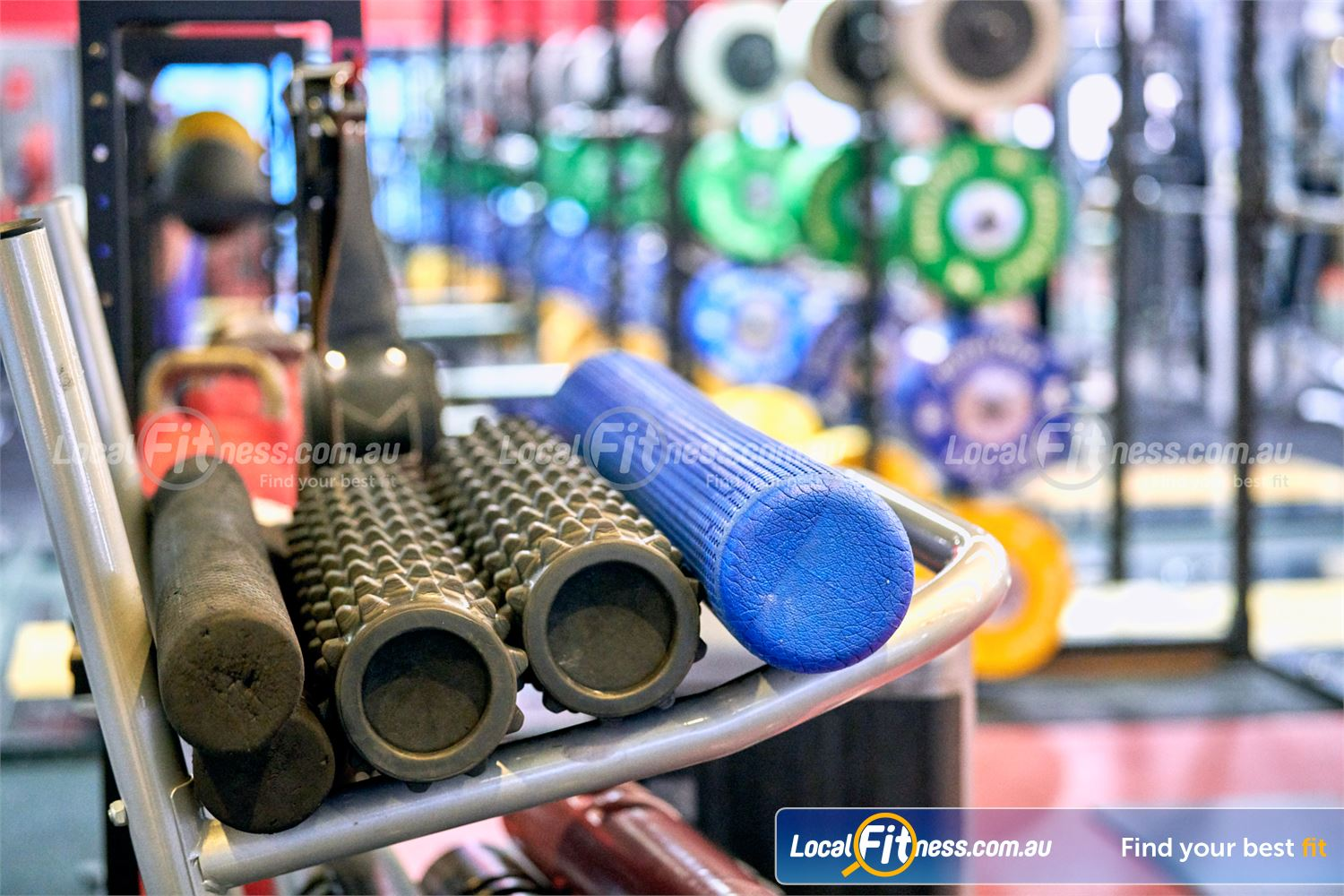 Fitness First Victoria Gardens Near Richmond North Our ab and stretching zone includes a full range of foam rollers.